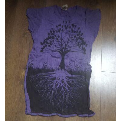 Női SURE DESIGN póló Életfa mintázattal lila színben