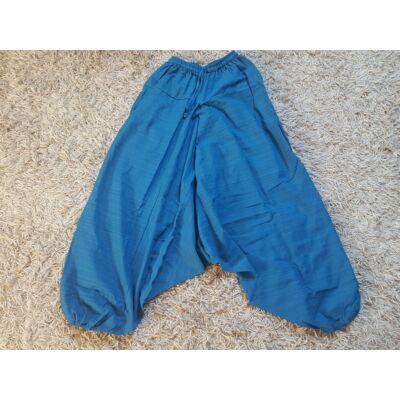Buggyos Aladdin nadrág vastag pamut anyagból kék színben
