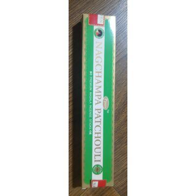 Füstölő Nagchampa Patchouli Green