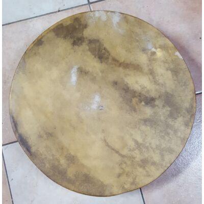 Sámándob Dám szarvasbőrből 50cm átmérővel