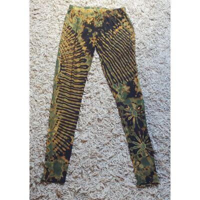Női SURE DESIGN jóga legging fekete, olajzöld, barna, sárga színben