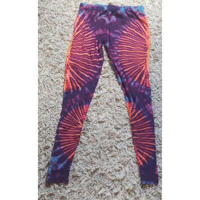 Sure Design jóga legging kék, rózsaszín, sárga, lila színekben