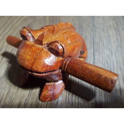 Fából készült békahang 8 cm-es méretben