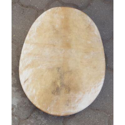 Sámándob kecskebőrből ovális formával