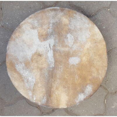 Sámándob gím szarvasbőrből 50cm átmérővel