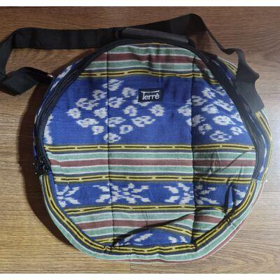 Kék mintás sámándob táska 50 cm