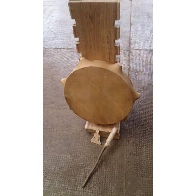Sámándob 3. kecskebőrből 35cm átmérő,bütykös