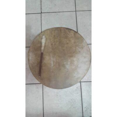 Sámándob-Táltosdob kecskebőrből 50 cm átmérővel,HANGANYAGGAL