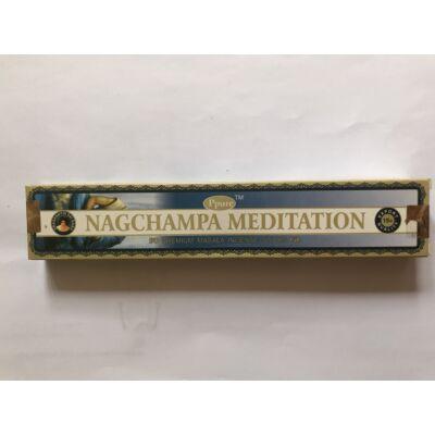 Füstölő NagChampa Meditation