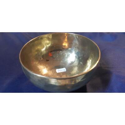 Tibeti hangtál 3. polírozott, 7 fémből, duálcsakrás