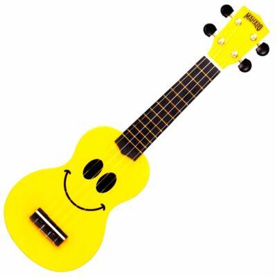 Ukulele Mahalo U Smile sárga színű