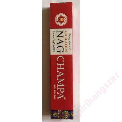 Füstölő Golden Nag Champa
