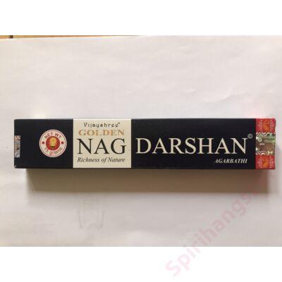 Füstölő Golden Nag Darshan