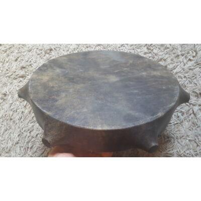 Sámándob-Táltosdob kecskebőrből, bütykös, 40 cm átmérővel,HANGANYAGGAL