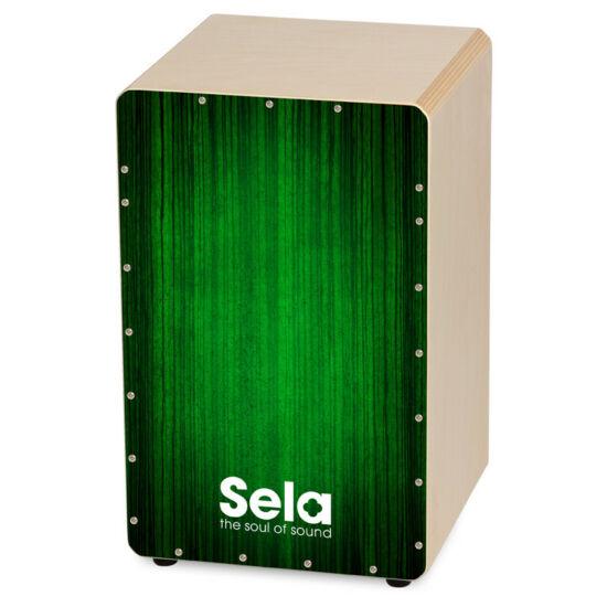 Cajon Sela zöld színű