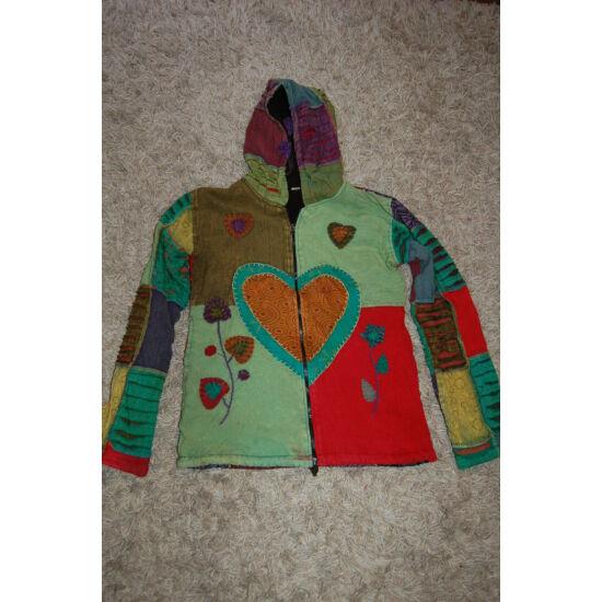 Nepáli kapucnis kabát 2