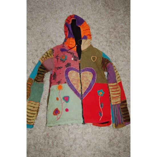 Nepáli kapucnis kabát 4