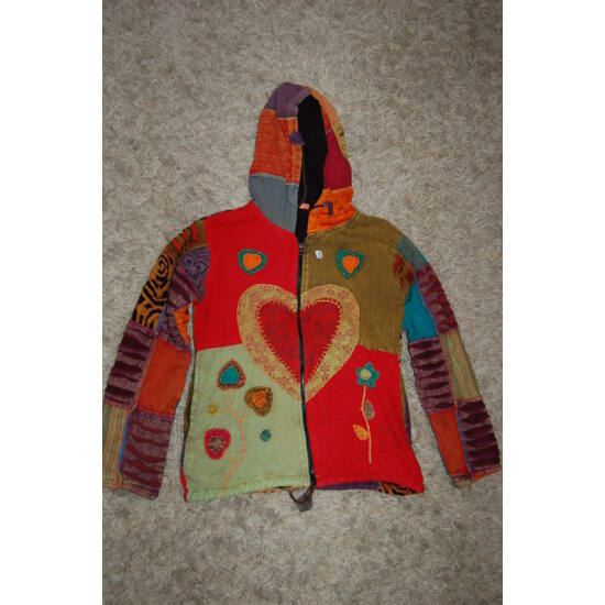 Nepáli kapucnis kabát 5