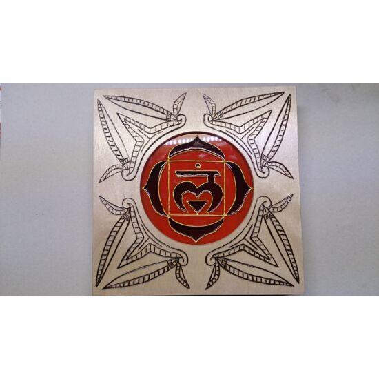 Gyökércsakrás Turáni ornamentikus mintájú falilámpa