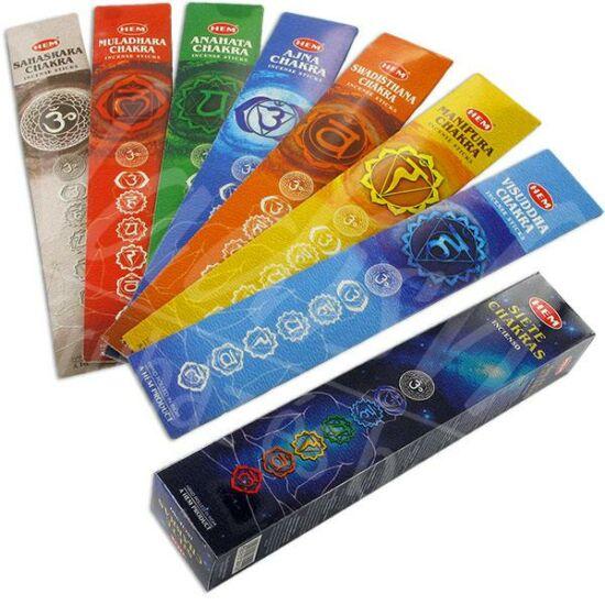 Seven Chakra füstölő 35 db