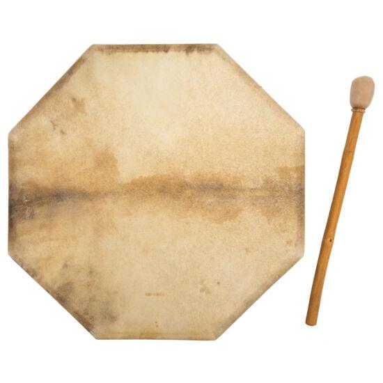 Óriás sámándob kecskebőrből 70 cm átmérő